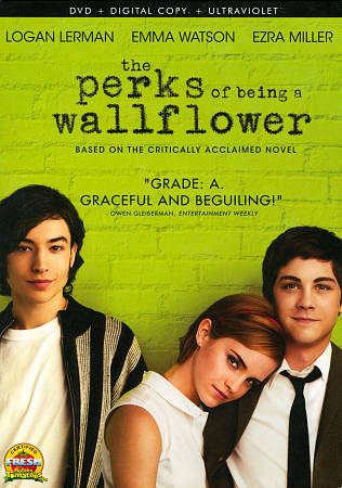The Perks of Being a Wallflower, Good DVD, Kate Walsh, Ezra Miller, Logan Lerman