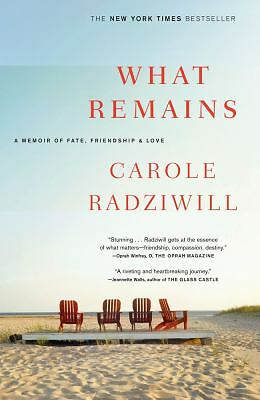 What Remains: A Memoir of Fate, Friendship, and Love, Radziwill, Carole, Accepta