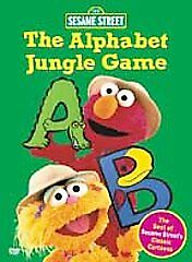 Sesame Street - The Alphabet Jungle Game, New DVD, ,