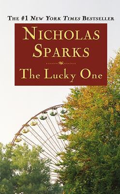 The Lucky One, Nicholas Sparks, Good Condition, Book
