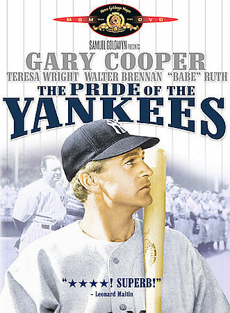 The Pride of the Yankees, Good DVD, Ernie Adams, Bill Dickey, Virginia Gilmore,