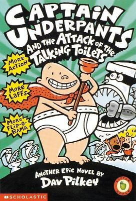 Captain Underpants and the Attack of the Talking Toilets, , Good Condition, Book