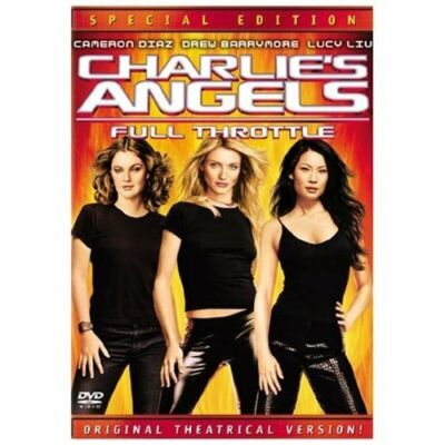 Charlie's Angels: Full Throttle (Full Screen Special Edition), Good DVD, Drew Ba