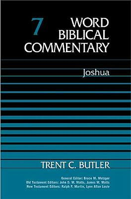 Word Biblical Commentary Vol. 7, Joshua  (butler), 350pp, Trent C. Butler, Good
