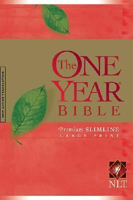 The One Year Bible Premium Slimline by Tyndale House Publishers