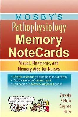 Mosby's Pathophysiology Memory NoteCards: Visual, Mnemonic, and Memory Aids for