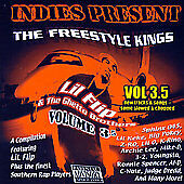 INDIES PRESENT THE FREESTYLE KINGS VOL. 3.5 - BRAND NEW/SEALED - PARENTAL ADVIS.