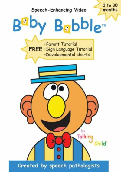 Baby Babble - Speech-Enhancing DVD for Babies and Toddlers, Good DVD, Made by Sp
