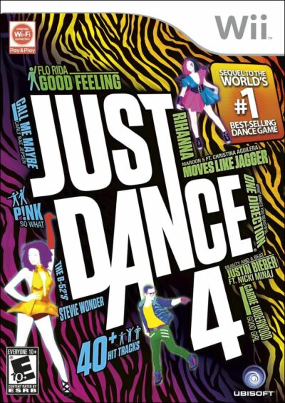 Just Dance 4 - Nintendo Wii, Good Nintendo Wii, Nintendo Wii Video Games