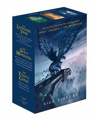 Percy Jackson and the Olympians Paperback Boxed Set (Books 1-3), Rick Riordan, G