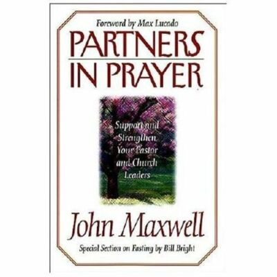 Partners In Prayer, John C. Maxwell, Good Condition, Book
