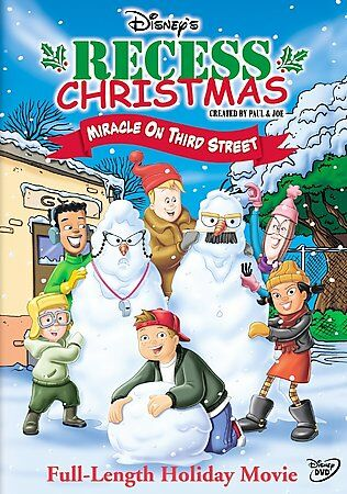 Recess Christmas - Miracle on Third Street, Good DVD, Andrew Lawrence, Rickey D'