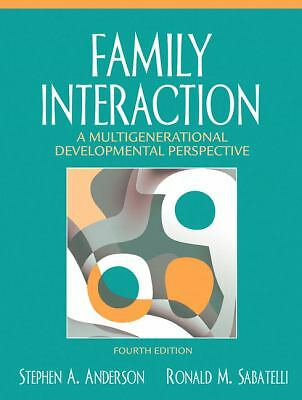 Family Interaction: A Multigenerational Developmental Perspective (4th Edition),