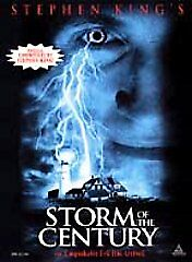 Stephen King's Storm of the Century, Good DVD, Carson Manning, Tim Daly, Colm Fe