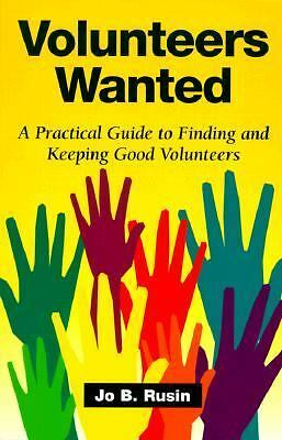 Volunteers Wanted, Rusin, Jo Bryan, Good Book