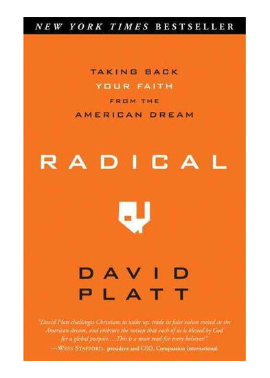 Radical: Taking Back Your Faith from the American Dream, David Platt, Good Book