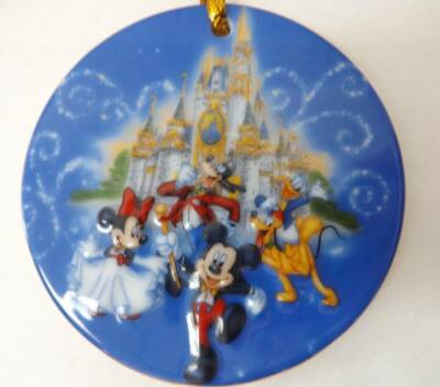 Disney The Happiest Celebration On Earth Disney Parks 3 Inch Ornament