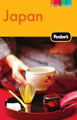 Fodor's Japan (Full-color Travel Guide), Fodor's, Good Condition, Book
