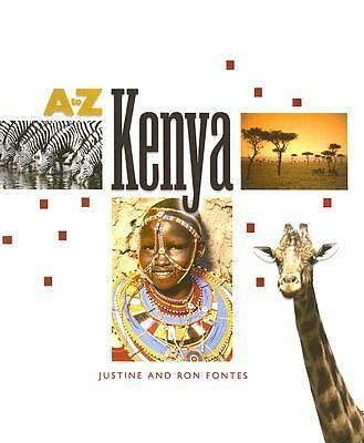 Kenya (A to Z (Children's Press)), Fontes, Ron, Fontes, Justine, Good Condition,