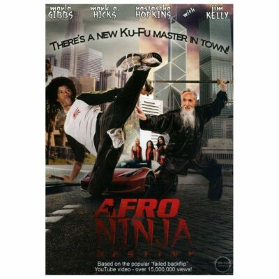 AFRO NINJA: DESTINY - CLEARANCE RENTAL/R0/NR/WS/DVD - GIBBS/HICKS/HOPKINS/KELLY