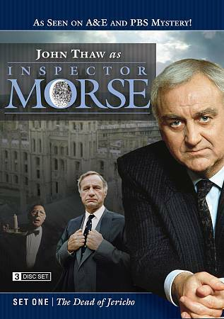 Inspector Morse Set One: The Dead of Jericho, Good DVD, John Thaw,