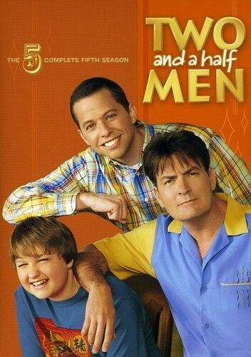 Two and a Half Men: Season 5 by Charlie Sheen, Jon Cryer, Angus T. Jones, Marin