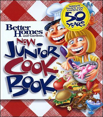 New Junior Cookbook (Better Homes & Gardens Cooking) by Better Homes and Garden