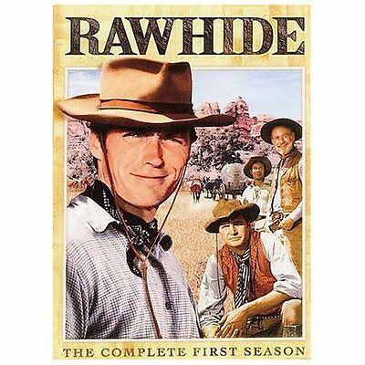 Rawhide - The Complete First Season, Good DVD, Clint Eastwood, Eric Fleming,