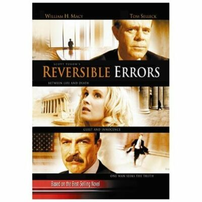 Reversible Errors, Good DVD, William H. Macy, Tom Selleck, Monica Potter, Felici