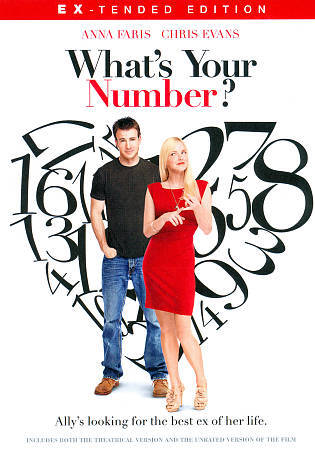 What's Your Number, Good DVD, Chris Evans, Anna Faris,