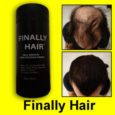 27.5g Keratin Hair Loss Hair Building Fibers Applicator Bottle Finally Hair Kit