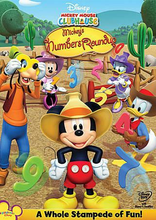 Mickey Mouse Clubhouse: Mickey's Numbers Roundup by