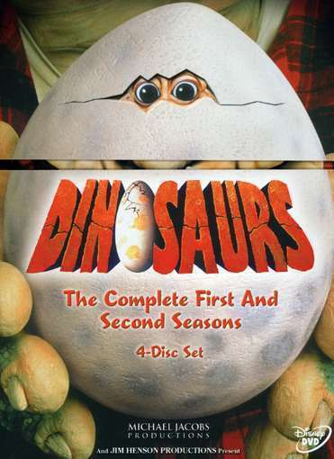Dinosaurs - The Complete First and Second Seasons, Good DVD, Bill Barretta, Kevi