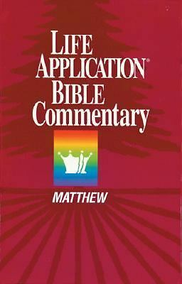 Matthew (Life Application Bible Commentary), , Good Book
