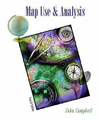 Map Use & Analysis, Campbell, John, Good Book