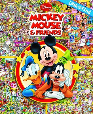 Look and Find: Mickey Mouse & Friends, Editors of Publications International Ltd