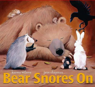 Bear Snores On (The Bear Books) by Wilson, Karma