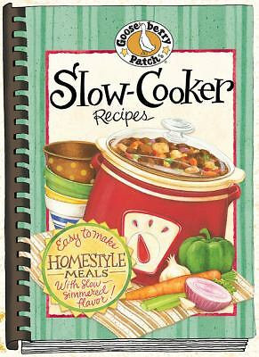 Slow-Cooker Recipes Cookbook (Gooseberry Patch), Gooseberry Patch, Good Book