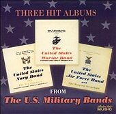 Three Hit Albums From the Us Military Bands, Navy United States Marine & Air , G