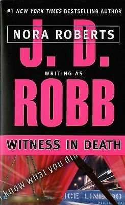 Witness in Death, J. D. Robb, Good Condition, Book