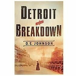 Detroit Breakdown (Detroit Mysteries), Johnson, D. E., Good Condition, Book
