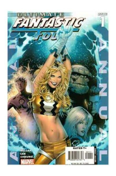 Ultimate Fantastic Four Annual #1 (Oct 2005, Marvel)
