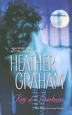 Kiss Of Darkness, Heather Graham, Good Condition, Book