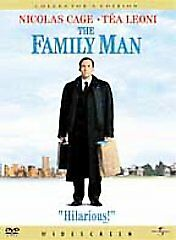 The Family Man, Good DVD, Nicolas Cage, Téa Leoni, Don Cheadle, Jeremy Piven, Sa