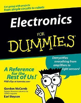 Electronics For Dummies, Gordon  McComb, Earl Boysen, Good Book