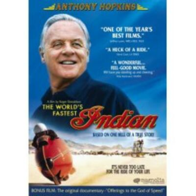 The World's Fastest Indian, Good DVD, Anthony Hopkins, Diane Ladd, Iain Rea, Tes