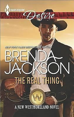 The Real Thing (Harlequin DesireThe Westmorelands), Jackson, Brenda, Good Condit