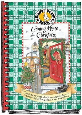 Coming Home for Christmas Cookbook, Gooseberry Patch, Good Condition, Book