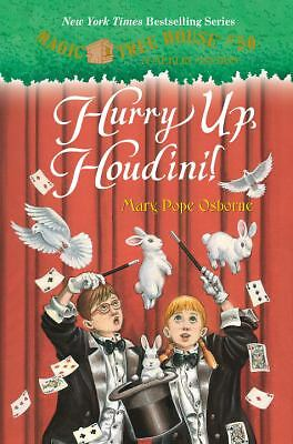 Magic Tree House #50: Hurry Up, Houdini! (A Stepping Stone Book(TM)), Osborne, M