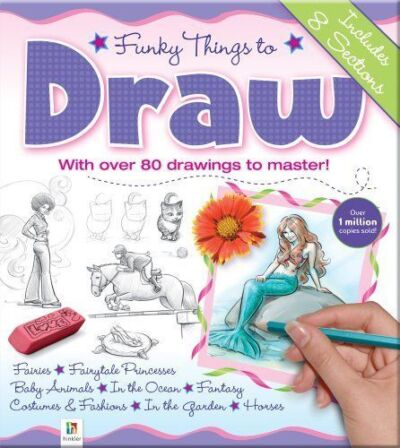 Funky Things to Draw by Hinkler Books